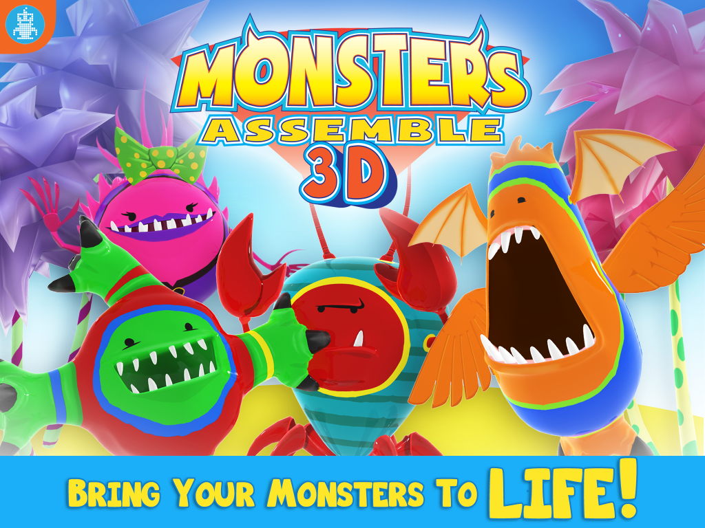 Monsters Assemble 3D - Bring Your Monsters To LIFE!