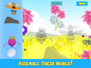 Monsters Assemble 3D - Assemble Their World!